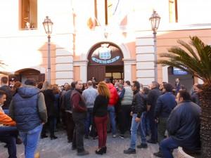 Protesta Lsu-Lpu a Rossano