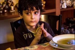 Il piccolo Gianfrancesco Spina protagonista nel corto Palline di Pane per la regia di Giuseppe Ferlito