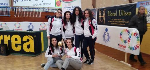 Premiata la New Volley Roscianum
