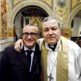 Il-Giornalista-Antonio-Le-Fosse-con-il-Vescovo-Santo-Marcianò